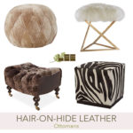 Hair-on-hide leather